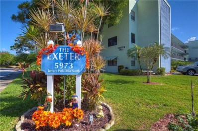 5973 Terrace Park Drive N UNIT 302, St Petersburg, FL 33709 - MLS#: U8021779