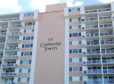 675 S Gulfview Boulevard UNIT 705, Clearwater Beach, FL 33767 - MLS#: U8022321