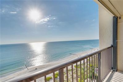 14950 Gulf Boulevard UNIT 1105, Madeira Beach, FL 33708 - MLS#: U8023131