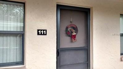 4920 Locust Street NE UNIT 111, St Petersburg, FL 33703 - MLS#: U8026624