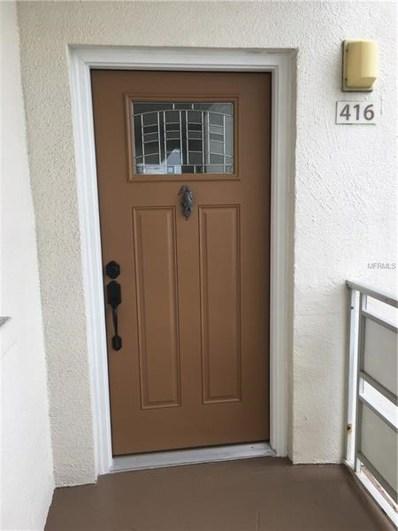 5603 80TH Street N UNIT 416, St Petersburg, FL 33709 - MLS#: U8029171