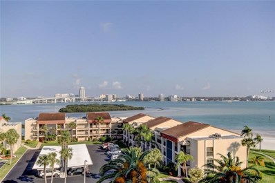 855 Bayway Boulevard UNIT 702, Clearwater, FL 33767 - MLS#: U8034662