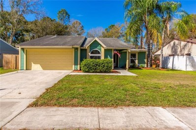 17542 Willow Pond Drive, Lutz, FL 33549 - #: U8035933