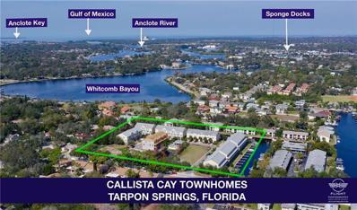 837 Callista Cay Loop UNIT 62, Tarpon Springs, FL 34689 - MLS#: U8036794