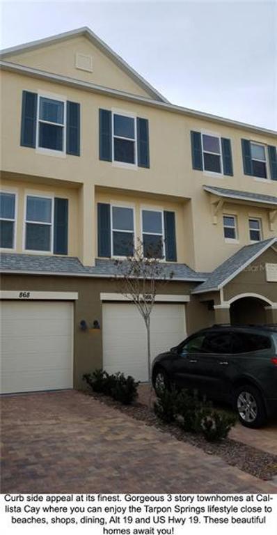 813 Callista Cay Loop, Tarpon Springs, FL 34689 - MLS#: U8043707