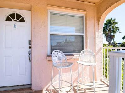 525 73RD Avenue UNIT 6, St Pete Beach, FL 33706 - MLS#: U8065544