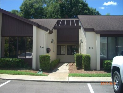 101 Grand Plaza Drive UNIT E4, Orange City, FL 32763 - MLS#: V4720115