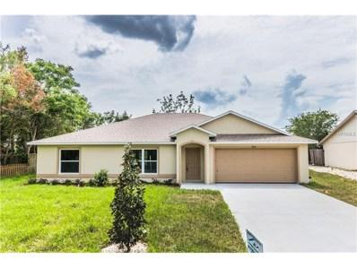 871 Fruitland Drive, Deltona, FL 32725 - MLS#: V4720886