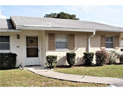 437 N Boston Avenue UNIT 437, Deland, FL 32724 - MLS#: V4721491
