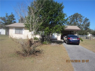 1609 Old Daytona Road, Deland, FL 32724 - MLS#: V4722496