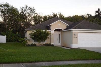 538 Coral Trace Boulevard, Edgewater, FL 32132 - MLS#: V4903927