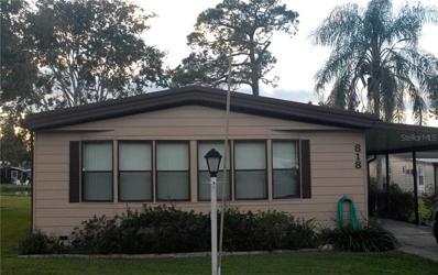 818 Swallow Lane, Osteen, FL 32764 - MLS#: V4904334