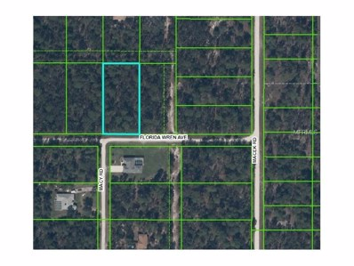 11149 Florida Wren Avenue, Weeki Wachee, FL 34614 - MLS#: W7628274