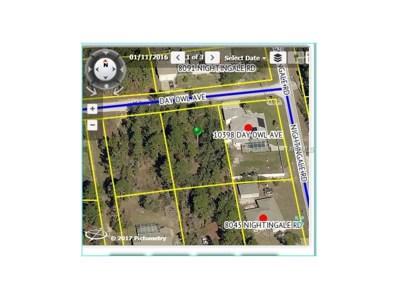 10390 Day Owl Avenue, Weeki Wachee, FL 34613 - MLS#: W7628603