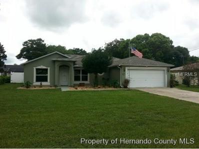 3864 Lema Drive, Spring Hill, FL 34609 - MLS#: W7631909