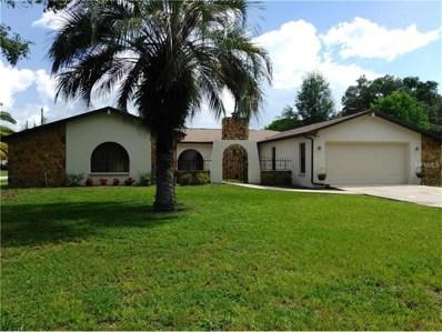8456 Peoria Street, Spring Hill, FL 34608 - MLS#: W7632770