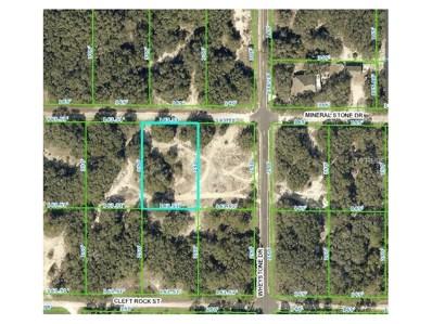 34218 Mineral Stone Drive, Webster, FL 33597 - MLS#: W7634192