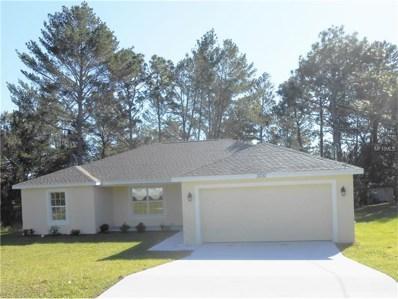 3707 Dothan Avenue, Spring Hill, FL 34609 - MLS#: W7635065