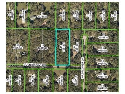 Country Oak Drive, Brooksville, FL 34602 - MLS#: W7635214