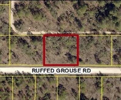 13303 Ruffed Grouse Road, Weeki Wachee, FL 34614 - MLS#: W7636670