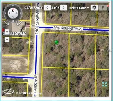 14252 English Sparrow Road, Weeki Wachee, FL 34614 - MLS#: W7636755