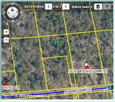 Rock Duck Avenue, Weeki Wachee, FL 34614 - MLS#: W7637202