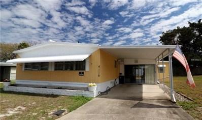 4116 Cardoon Drive, New Port Richey, FL 34653 - MLS#: W7638456