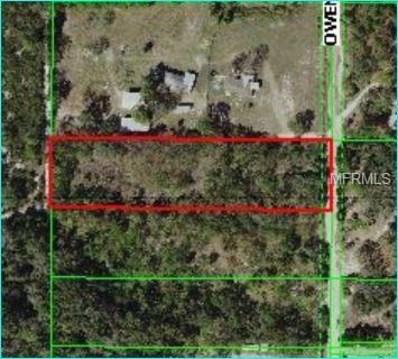 Owen Drive, Hudson, FL 34667 - MLS#: W7800006