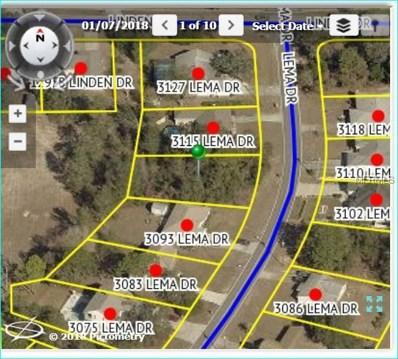 3105 Lema Drive, Spring Hill, FL 34609 - MLS#: W7800180