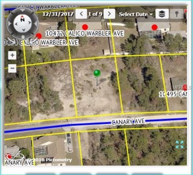 10475 Canary Avenue, Weeki Wachee, FL 34613 - MLS#: W7800311