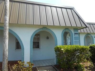 4233 Stratford Drive UNIT D, New Port Richey, FL 34652 - MLS#: W7800340
