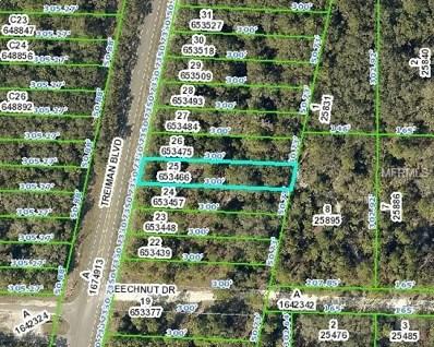 7438 Treiman Boulevard, Webster, FL 33597 - MLS#: W7800405