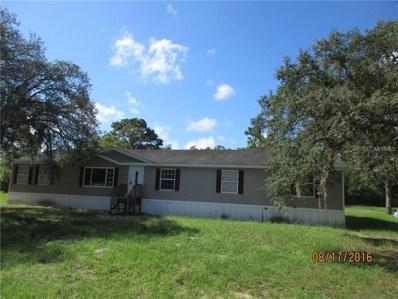 15341 Dennis Drive, Hudson, FL 34669 - MLS#: W7800577