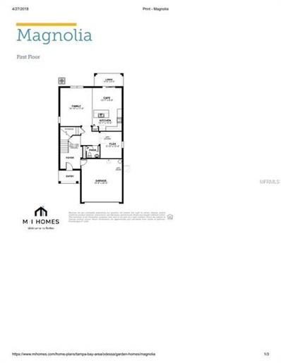 12312 Tibbetts Street, Odessa, FL 33556 - MLS#: W7800650