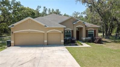 16176 Wiscon Road, Brooksville, FL 34601 - MLS#: W7800659