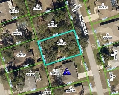 1199 Channing Avenue, Spring Hill, FL 34608 - MLS#: W7800908