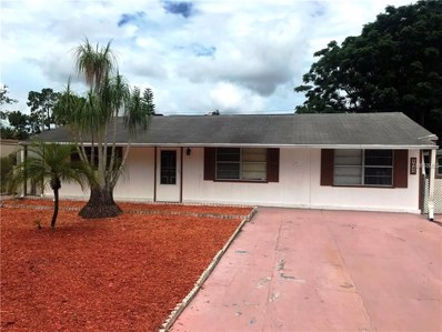 4037 Las Vegas Drive, New Port Richey, FL 34653 - MLS#: W7801977