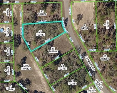 11335 Lapwing Road, Brooksville, FL 34614 - MLS#: W7802301