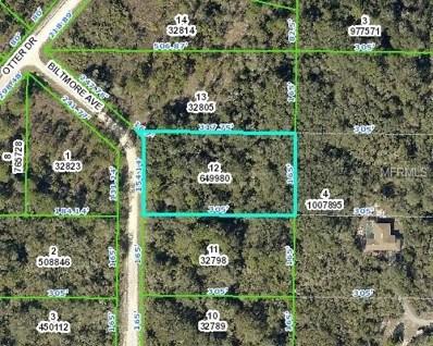 6474 Biltmore Avenue, Webster, FL 33597 - MLS#: W7802376