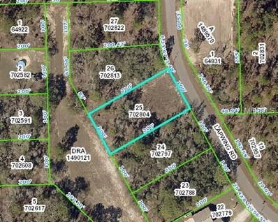 11327 Lapwing Road, Weeki Wachee, FL 34614 - MLS#: W7804611