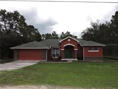 15266 Fleetwood Road, Weeki Wachee, FL 34614 - MLS#: W7805219