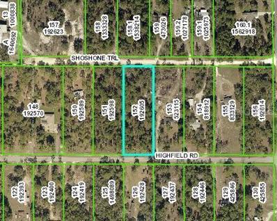 15427 Highfield Road, Brooksville, FL 34604 - MLS#: W7805314