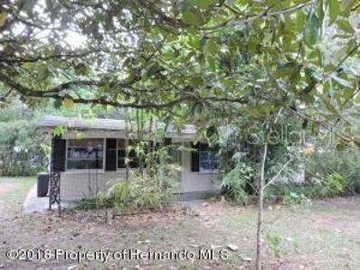 6331 Pine Ridge Drive, Brooksville, FL 34602 - MLS#: W7806423