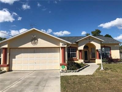 2339 Renton Lane, Spring Hill, FL 34609 - MLS#: W7810793