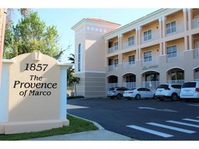 1857 San Marco Road UNIT 304, Marco Island, FL 34145 - #: 2190189