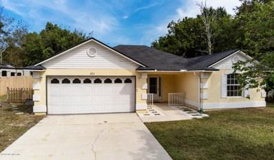 201 Warbler Rd, St Augustine, FL 32086 - #: 1018114
