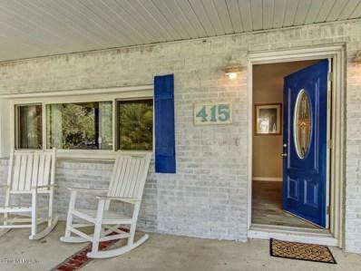 415 Fourteenth St, St Augustine, FL 32084 - #: 1018773