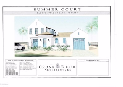 Jacksonville Beach, FL home for sale located at 1 Summer Court Ct, Jacksonville Beach, FL 32250