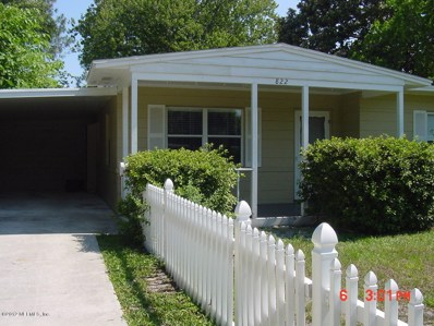 Jacksonville Beach, FL home for sale located at 822 7TH Ave N, Jacksonville Beach, FL 32250