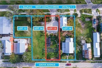 St Augustine, FL home for sale located at 28 W Castillo Dr, St Augustine, FL 32084
